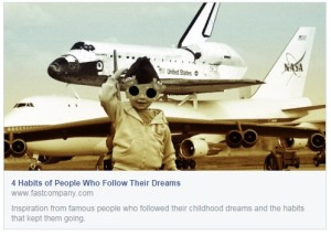 4 Habits of Opeople Who Follow Their Dreams