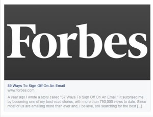 89 Ways to Sign Off An Email